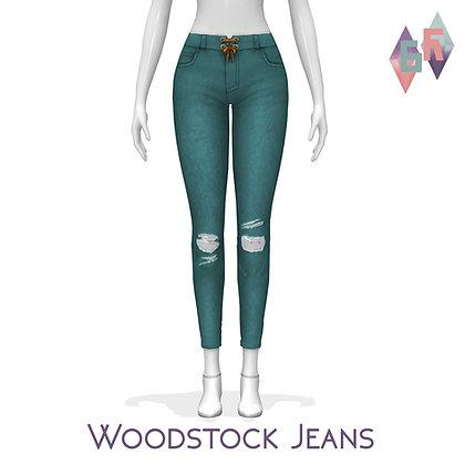 Saurora; Woodstock Jeans
