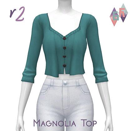 Saurora; Magnolia Top V2