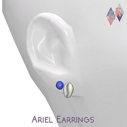 Saurora; Ariel Earrings