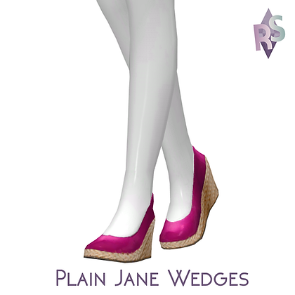 Plain Jane Wedges