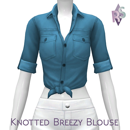 Knotted Breezy Blouse