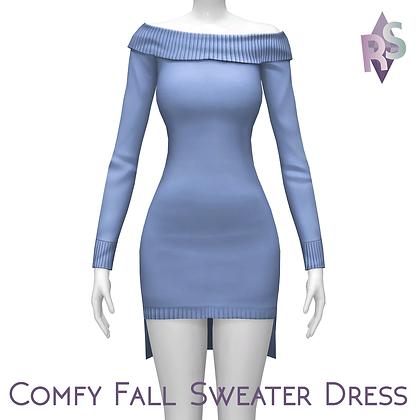 Comfy Fall Sweater Dress