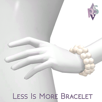 Less Is More; Pearl Bracelets