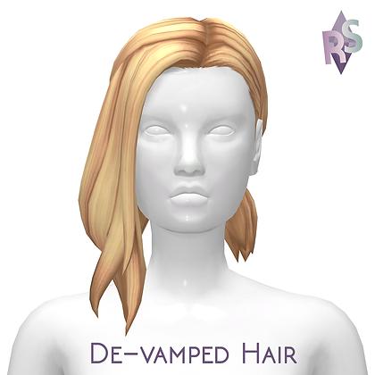 De-Vamped Hair