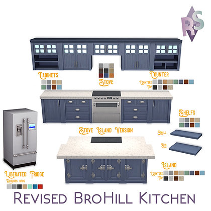 Revised BroHill Kitchen