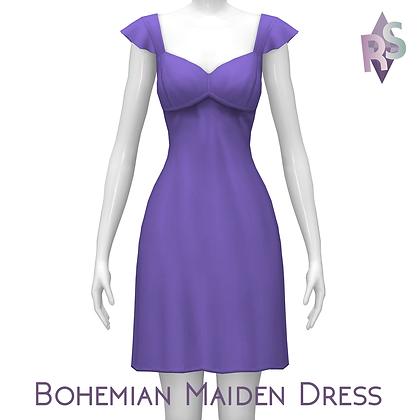 Bohemian Maiden Dress