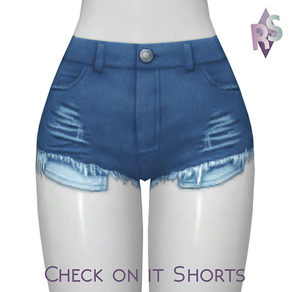 Check On It Shorts