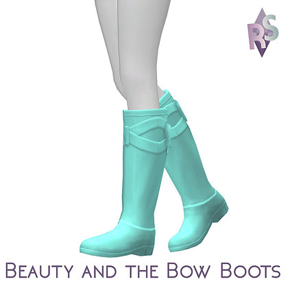 Beauty and the Bow Boots