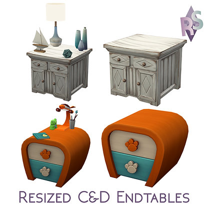 Resized & Reslotted EP04 Endtables