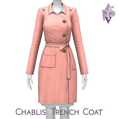 Chablis Trench Coat