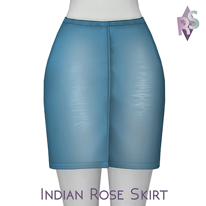 Indian Rose Skirt