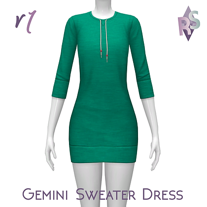 Gemini Sweater Dress