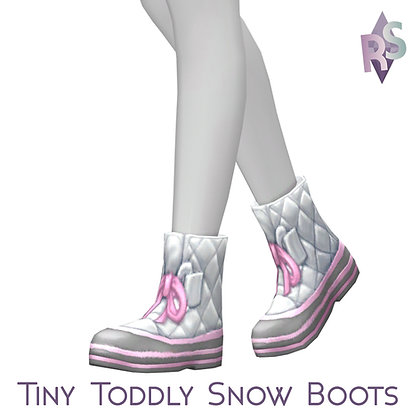 Tiny Toddly Snow Boots