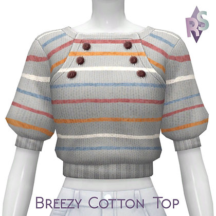 Breezy Cotton Top