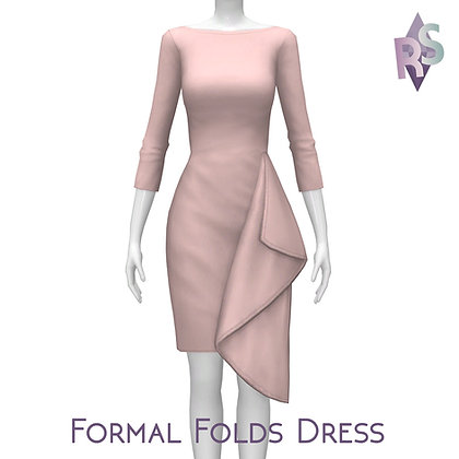 Formal Folds Dress