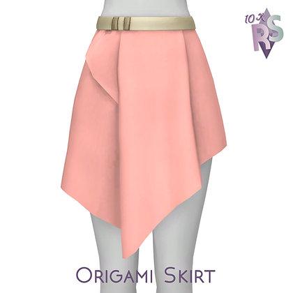 10K followers Gift; Origami Skirt