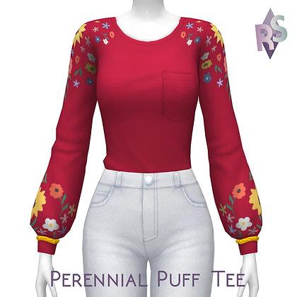 Perennial Puff Tee.