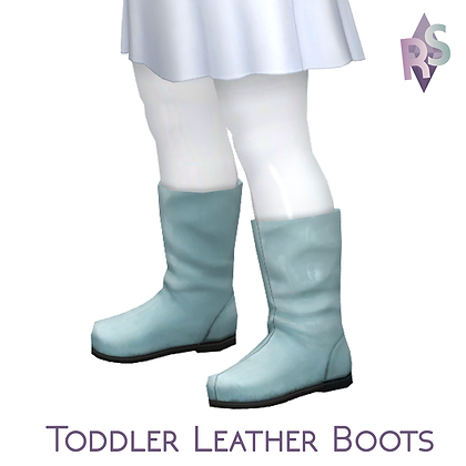 Toddler Leather Boots