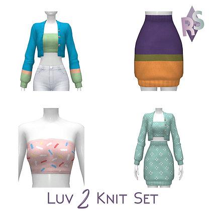 Luv 2 Knit mini Set