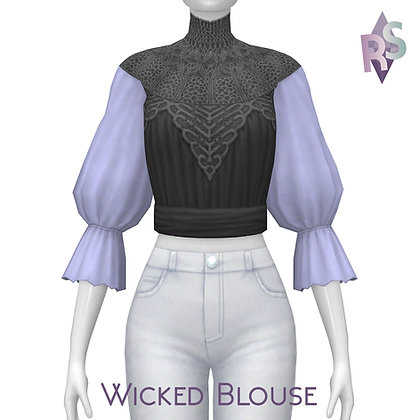 Patreon Gift; Wicked Blouse