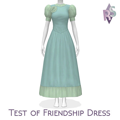 Test of Friendship Dress