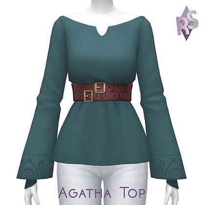 Simblreen 2020; Agatha Top