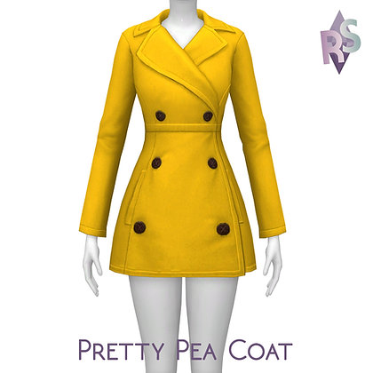 Pretty Pea Coat