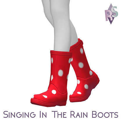 Singing In The Rain Boots