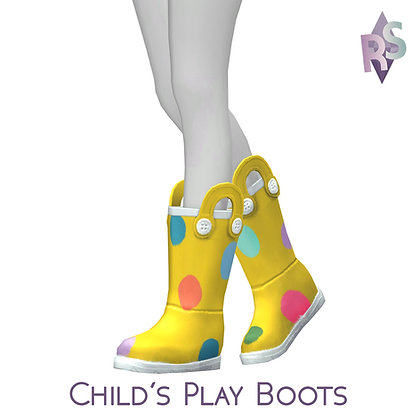 Child's Play Boots