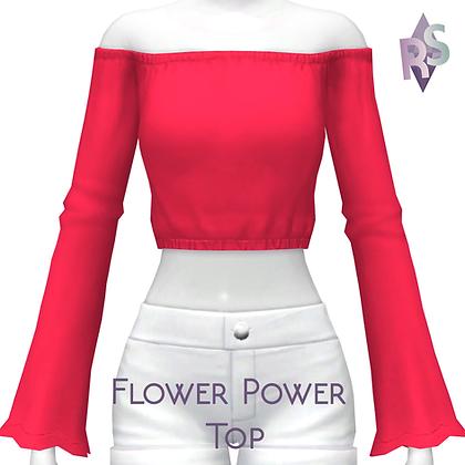 Flower Power Top