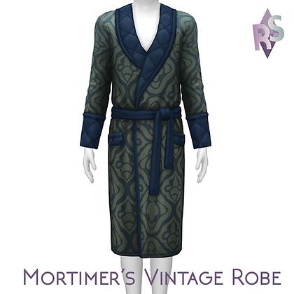 Mortimer's Vintage Robe