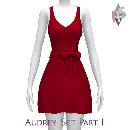 Audrey Set Part I; Audrey Dresses