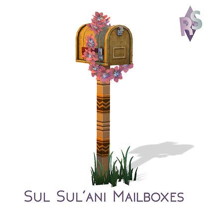 Sul Sul'ani Mailboxes