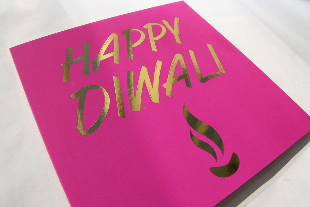 Happy Diwali Cards by Paisley Plush Greeting Cards