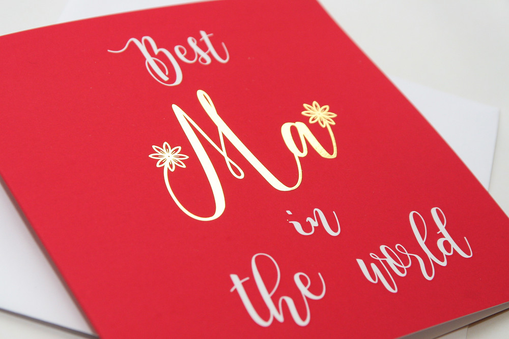 Paisley Plush Greeting Card - Best Ma In The World