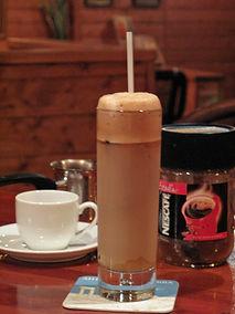 ギリシャ風アイスコーヒー カフェフラッペ