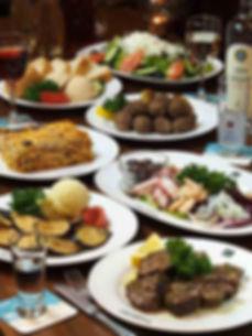 横浜、関内、ギリシャ料理&バーOLYMPIA、パーティー、宴会、menu、飲み放題、歓送迎会、ギリシャ料理、ラムチャップ、