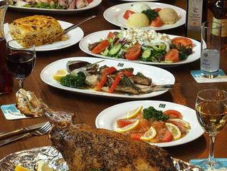 新年会、歓送迎会、女子会、気楽な集まりや接待などにも。ギリシャ料理でパーティーはいかが?