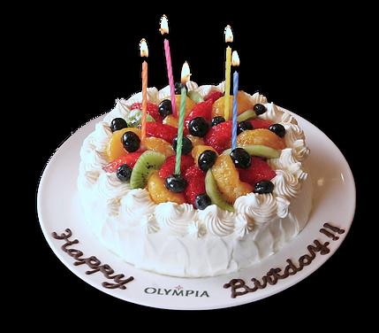 記念日 誕生日ケーキ ギリシャ料理OLYMPIA