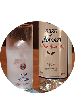 ギリシャのお酒 OUZO プロマリ Plomari ウゾ