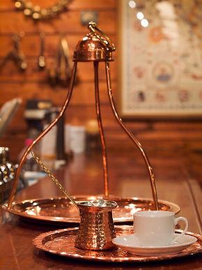 ギリシャコーヒー バクラバ カフェ