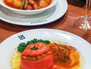 8月のおすすめ、トマトとピーマンのヨミスタ(イェミスタ)。ギリシャの夏の定番食です!!