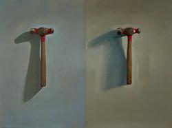 Deux marteaux bout rond