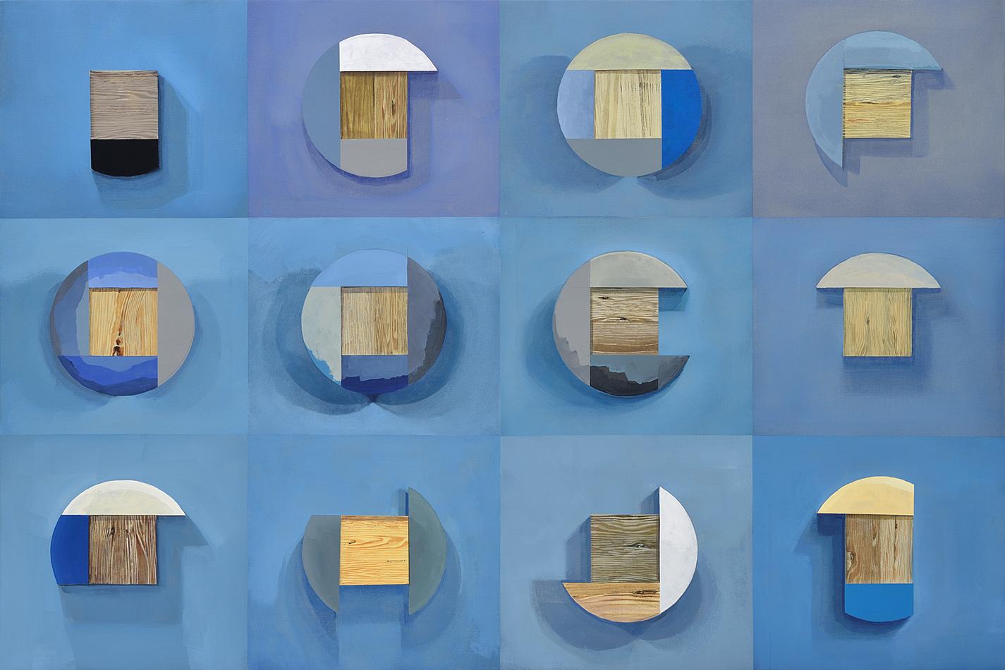 Douze plaquettes de bois 2
