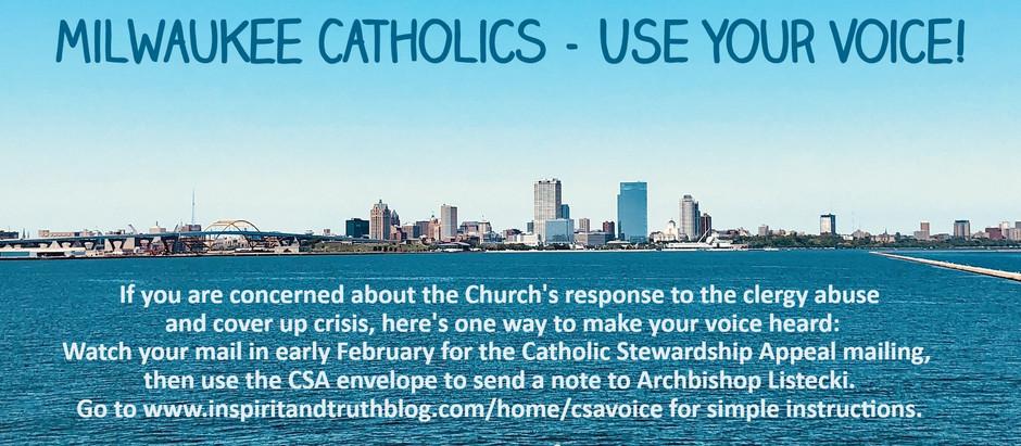 Don't Ignore That  Catholic Stewardship Appeal Envelope!