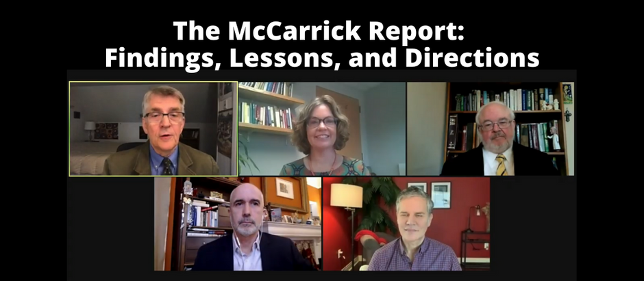 """""""We Have To Get This Right"""" - 8 Themes from Georgetown's Public Dialogue about the McCarrick Report"""