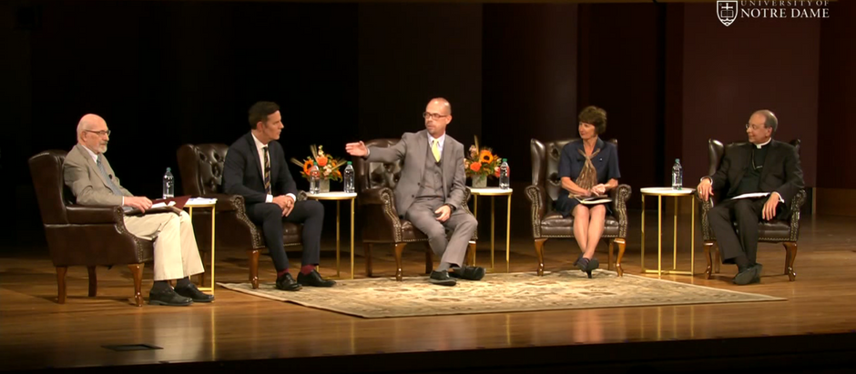 """""""The Church Is All Of Us. The Church Is Ours."""" - Final Thoughts from the Notre Dame Panel"""