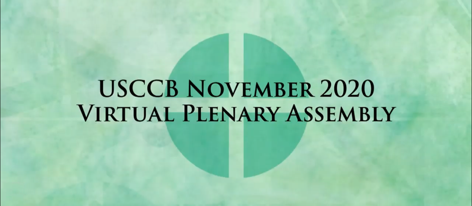 The USCCB General Assembly: Day 2 and My Closing Thoughts