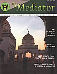 Conversations with a Veteran Mediator