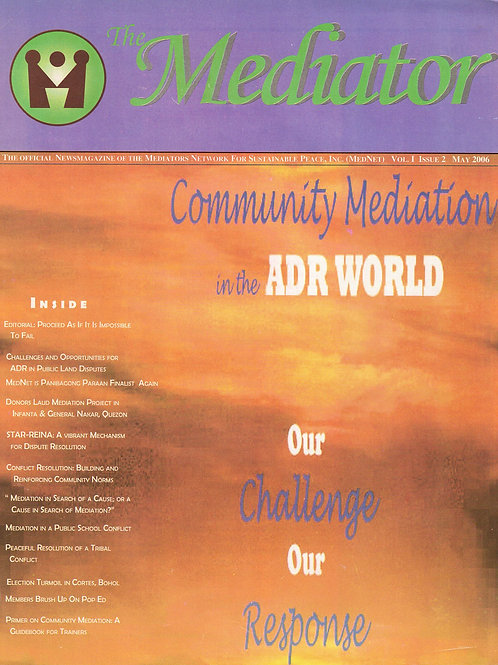 Community in the ADR World